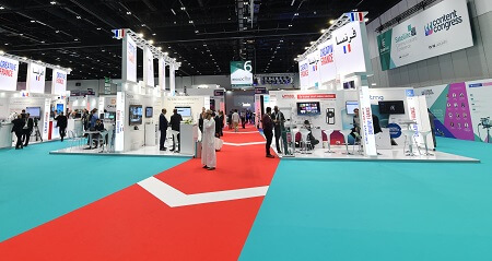 Protective films for trade show carpets