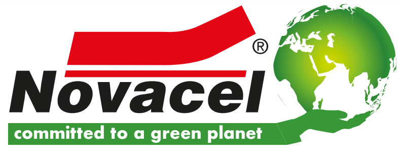 Logo Novacel comitted to a green planet