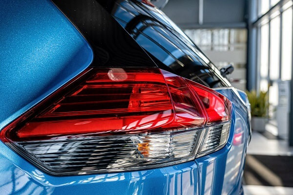 Protective films for car headlight in acrylic