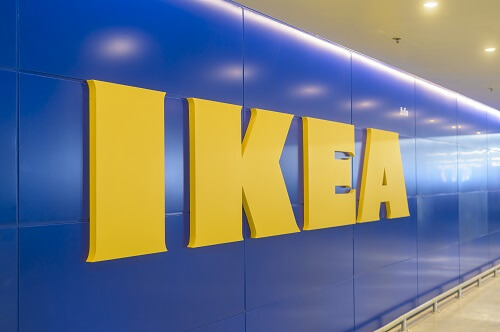 Protective films for PVC surface at Ikea