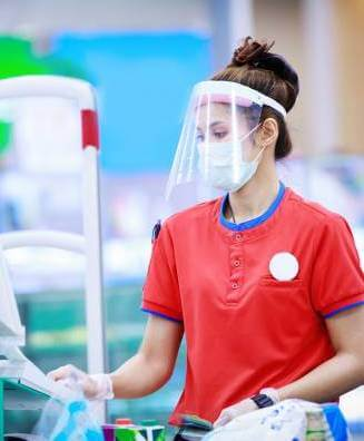 Antimicrobial films for workers