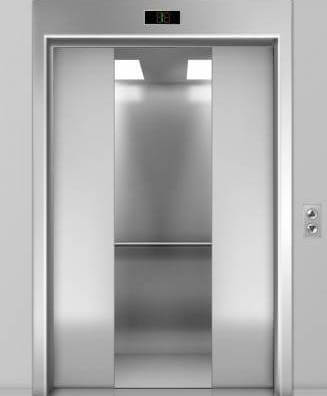 Antimicrobial films for elevators