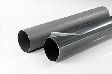Gutters protected by Novacel
