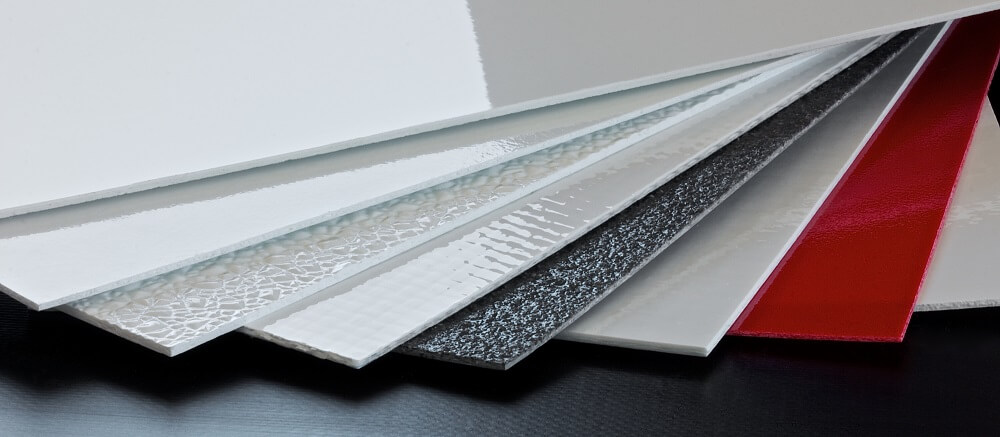 Protection film for extra wide FRP/GRP panels