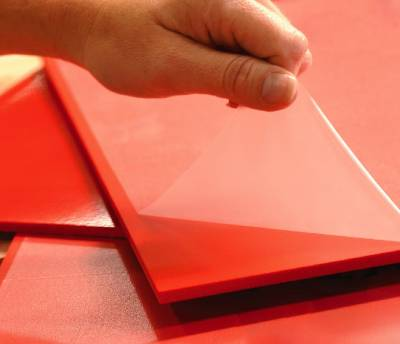 Foam PVC sheets with protective film