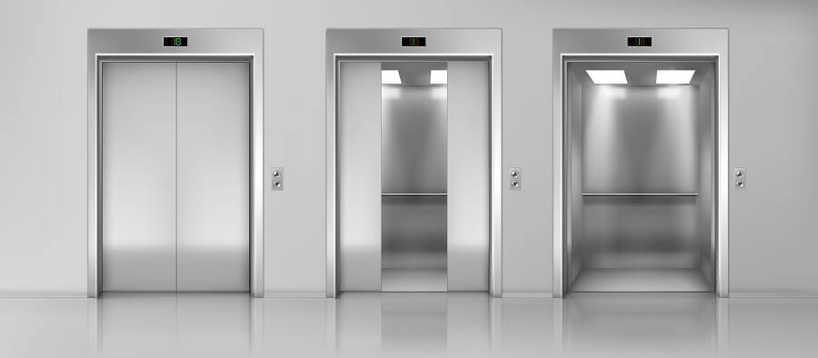 Stainless steel protective film for elevator